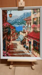Dorpsstraat - Uitzicht op zee